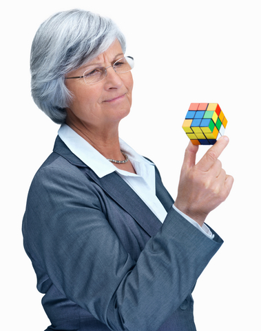 mature woman rubic cube copy