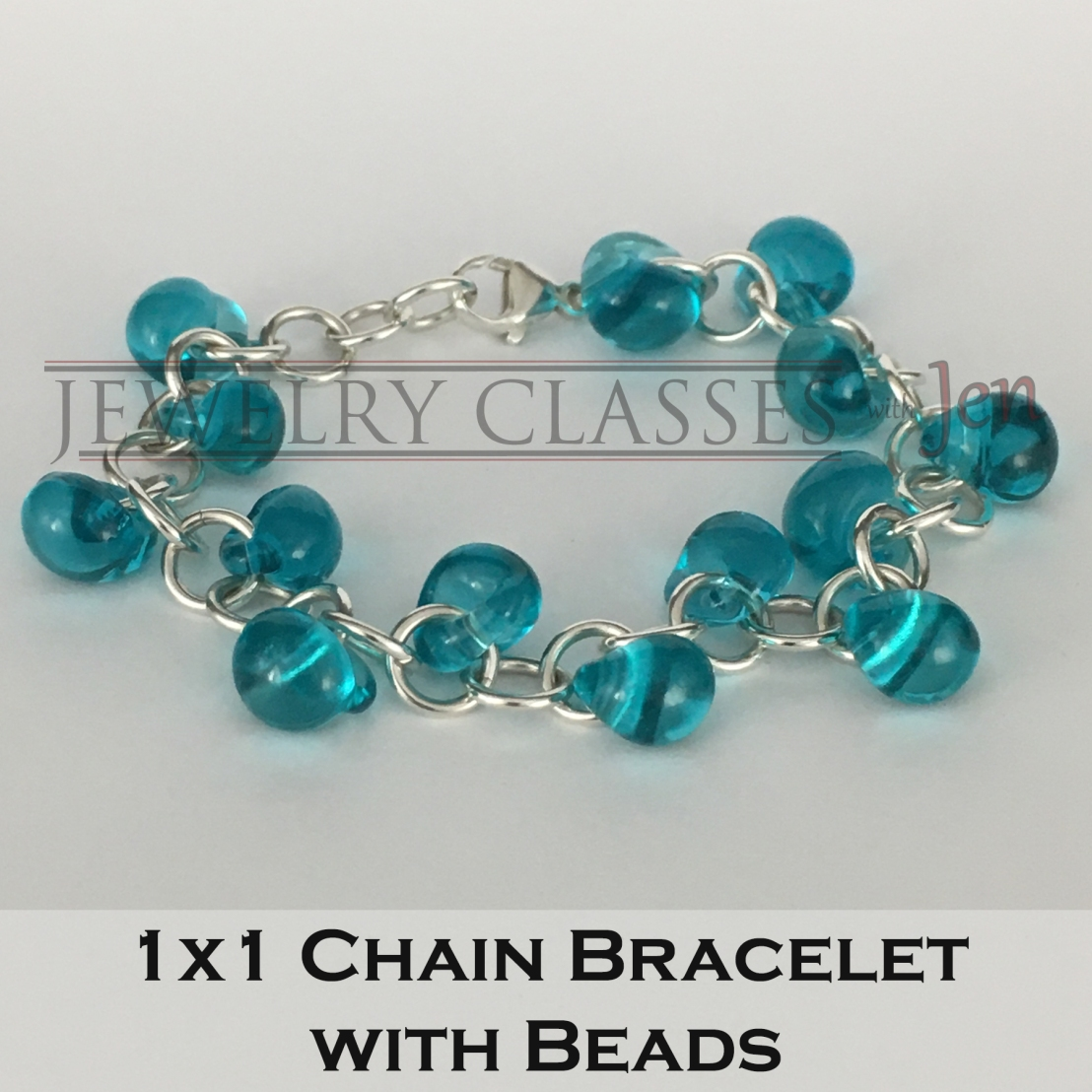 1x1 Chain Bracelet with Beads 6x6 300dpi